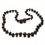 Raw baby teething baltic amber necklace.