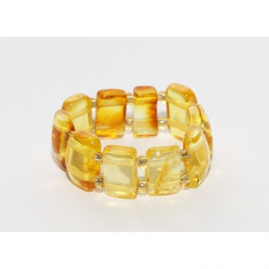 Baltic amber ring. Multi sized