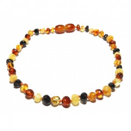 Baltic amber anklet bracelet for adult