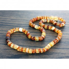 Raw baltic amber necklace for child/teenager.