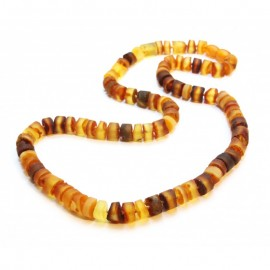 Raw baltic amber necklace.Perfect for men!