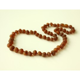 Raw baltic amber necklace