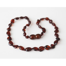 Baby teething baltic amber necklace.