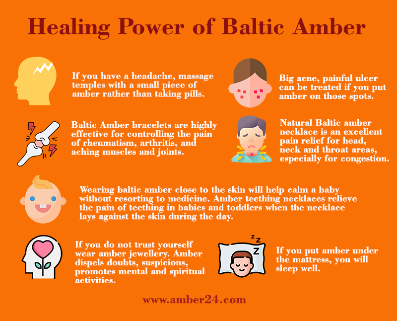 healing power of baltic amber